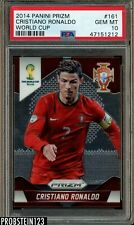 2014 Panini Prizm Soccer W/C #161 Cristiano Ronaldo Portugal PSA 10 GEM MINT