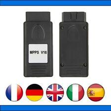 MPPS V16 PRO - REPROGRAMMATION CARTOGRAPHIE DEFAPAGE EGR FAP AIRBAG