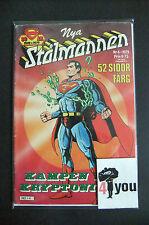 6.0 FN FINE  SUPERMAN  # 233 SWEDISH EURO VARIANT W/OWP YOP 1979