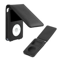 Leather Cover Case For Apple iPod Classic 80/120/160GB With Detachable Clip