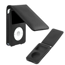 Cover Leather Case For Apple iPod Classic 80/120/160GB With Detachable Clip
