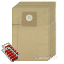 10 x Fresheners + Dust Bags For Cleanfix S10 S12 Hoover Vacuum Cleaner Bag