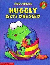 Kids fun paperback:Huggly Gets Dressed-Huggly Monster Under Bed-kids clothers?