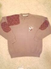 Northwind Cotton Traders Extra Large Hunting Sweater  Embroiderd Mallard Ducks