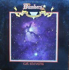 CAT STEVENS NUMBERS LP Die Cut Sleeve, Inner Sleeve, Booklet Island ILPSP9370 EX