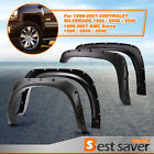 4PCS Fender Flares For 99-06 Chevy Silverado GMC Sierra Pocket Rivet Style Bolt