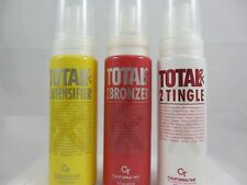 CALIFORNIA TAN TOTAL RX INTENSIFIER, BRONZER & TINGLE COMBO TANNING LOTION 3PACK