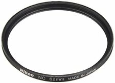 Japan Genuine Nikon 62mm Screw-on Filter Neutral Clear NC-62