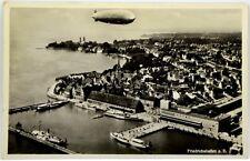 Cartolina Aviazione - Aerostato Nei Cieli Di Friedrichshafen a.B. - Viaggiata
