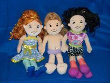 Groovy Girls Dolls Set of 3 Taryn Corbin blonde redhead brunette