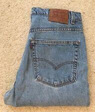 Para Hombre Levis 517 azul claro y hecho en EE. UU. Denim Jeans W 38 L 30