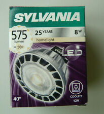 Sylvania GU5,3 8W LED RefLED Coolfit MR16 575LM 827 40° Dimmbar 2700K 50W 12V