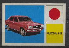 Mazda 818 Vintage Dutch Trading Card Auto Expo No.113