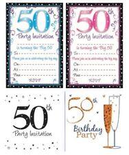 Cartes de vœux et papeterie anniversaire 50 ans