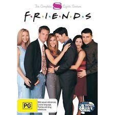 FRIENDS: THE COMPLETE 8TH SEASON - BRAND NEW & SEALED REG.4 DVD (4-DISC SET)