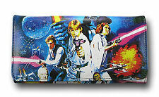 Star Wars Wallet USA American Movie Logo Ladies Women Girly Poster Leather New