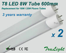 T8 8W LED Tube Cool White Frosted Cover 18W / 22W Replacement Power saving