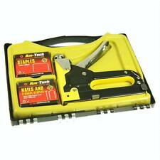 3 IN 1 INDUSTRIAL STAPLE GUN SET UPHOLSTERY TACKER WITH 600 STAPLES B3750