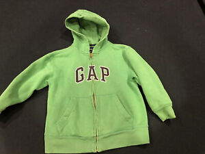 GAP KIDS ~ Youth Hooded Sweatshirt ~ Size S Small 6 7 ~ Green ~Fall School