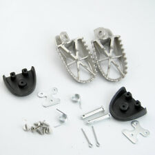 Motorcycle Foot Pegs Rests Cover For Honda XR50R CRF50 CRF70 Aluminium Pedal Pad
