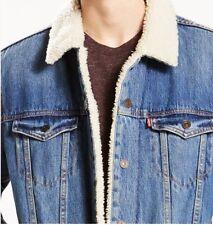 Levi's Men Sherpa Trucker Jacket (Levis authentic, brand new guaranteed)