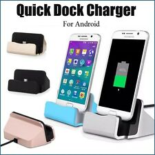 Quick Charger Docking Station Micro USB 2.0 For Android Charge + Sync Dock