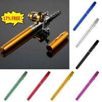Mini Fishing Rod Bait Telescopic Portable Pocket Aluminum Alloy Pen Pole  Best