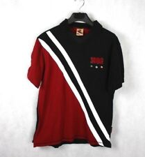color heritage mens  polo shirt 1962 short sleeve embellished 100% cotton