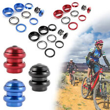 "THREADLESS BICYCLE HEADSET FOR 1 1/8"" (28.6mm) FORKS MTB ROAD BIKE SCOOTER"
