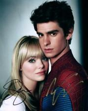 Emma Stone Andrew Garfield 8x10 Signed Photo autographed Picture COA