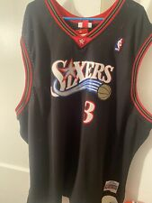 Allen Iverson Mitchell And Ness Jersey 2000-01 Size 5XL NWT