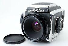 🌟N-Mint🌟 SN15**** Bronica S2A S2 Late Model + Nikkor-P.C 75mm F/2.8 Lens Japan