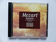 CD Album MOZART Requiem ATLAS SAC CD 001