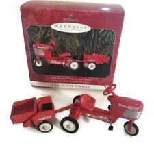 1955 Murray - Tractor & Trailer Kiddie Car Classics - Hallmark Keepsake Ornament