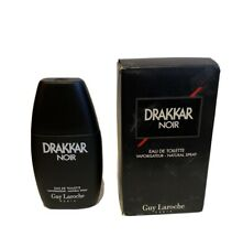 Drakkar Noir Guy Laroche Men 1.0 oz 30 ml Eau De Toilette Spray New With Cap