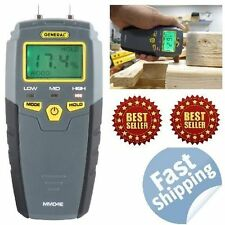 NEW Digital Moisture Meter Detector Tester Wood Firewood Concrete Drywall SHIPS