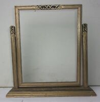 "Antique Vintage Wood Wooden Pivot Swing Swivel Art Deco Picture Frame 9"" x 7"""