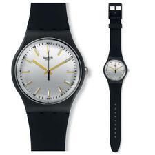 Swatch Watch Partout Watch SUOB132 Analogue Silicon Black