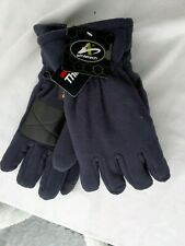 3M Thinsulate Men's Soft Dark Navy Blue Gloves Size L/XL With Tags