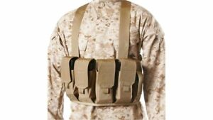 Blackhawk Chest Rig - 8 Rifle and 2 Pistol - M4/AK Coyote Tan 55CP04CT