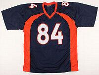 Troy Fumagalli Signed Denver Broncos Football Jersey JSA Authentic! Autographed