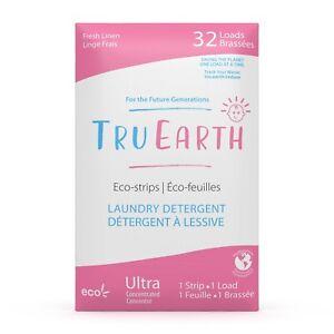 Tru Earth Eco-Strips Laundry Detergent (Baby - 32 Loads)