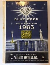 VINTAGE BENNETT BROTHERS BLUE BOOK OF QUALITY MERCHANDISE 1965