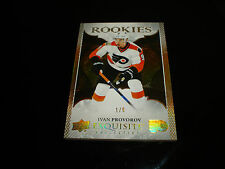 16-17 UD ICE IVAN PROVOROV EXQUISITE RC ROOKIES Gold 1/9