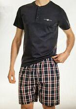 Harvey Miller Pyjama Short SET Nachtwäsche T-shirt Schlaf-Anzug Gr. M L XL XXL