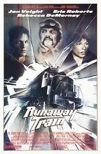 RUNAWAY TRAIN (1986) ORIGINAL MOVIE POSTER  -  ROLLED