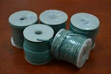 5 ROLLS - 50 METERS AQUA LEATHER BEADING CORD STRING 2MM #T-955