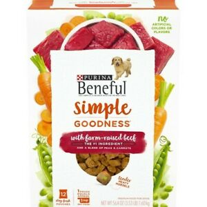 Purina Beneful Simple Goodness With Farm Raised Beef 56.4 oz