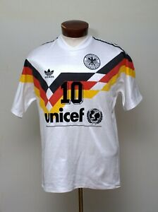 Jersey Maglia Trikot GERMANY 1991, NO MATCH WORN, adidas.