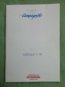 Campagnolo catalogue n.18 Pristine inside, very good covers 12/86 print